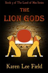 The Lion Gods - ebook cover